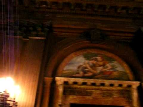 Entering the Reading Room at tne New York Public Library