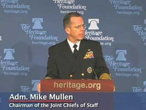 Adm. Mike Mullen on Progress in Iraq