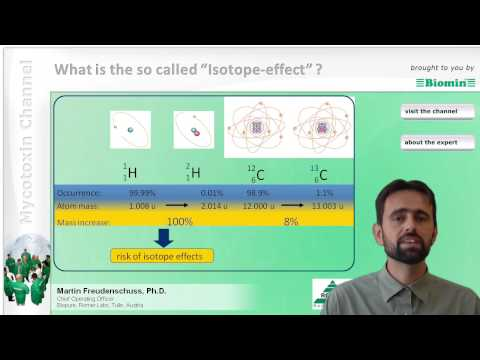 What is the so called Isotope effect ?