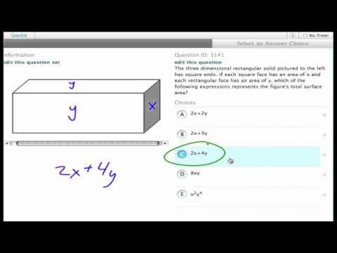 Grockit SAT Math - Multiple Choice: Question 3141