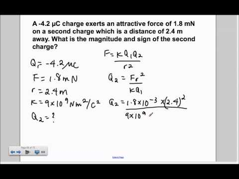 Electric Charge and Force Presentation #21