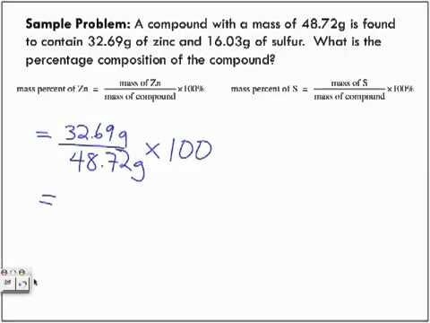 Percentage Composition Lecture