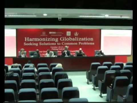 Harmonizing Globalization - Seeking Solutions to Common Problems: Day Two  - Pt 6