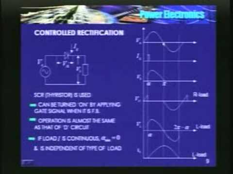 Lecture - 11 Power Electronics