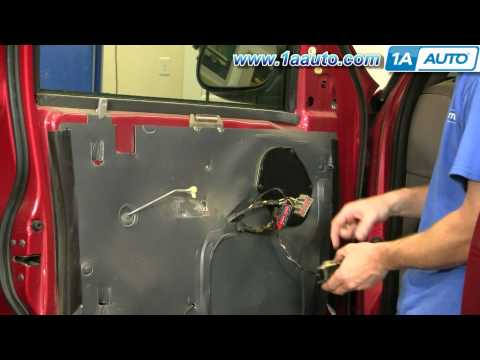 How To Install Replace Inside Door Handle Ford F-150 Expedition 97-03 1AAuto.com