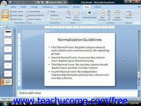 Access 2010 Tutorial Tips for Creating a Relational Database Microsoft Training Lesson 2.5