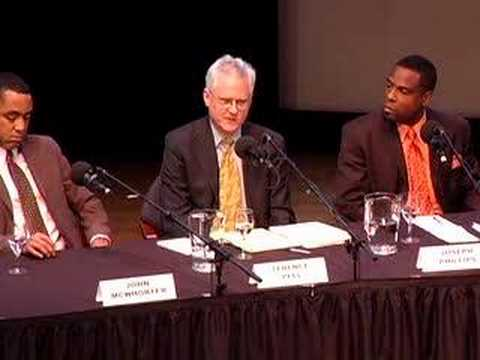 Affirmative Action Debate: Q & A, part 5 (12 of 14)