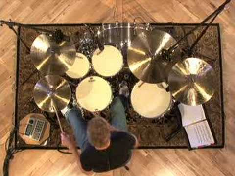 Sixteenth Note Accent Beats - Drum Lessons
