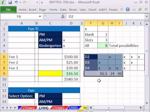 Excel Magic Trick 704: Analyzing Problem and Building Robust Solution.