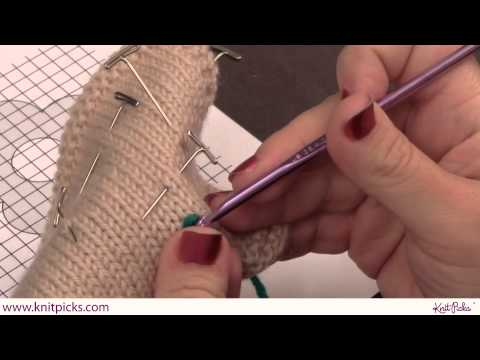 Embroidery: How to do the Crochet Chain Stitch