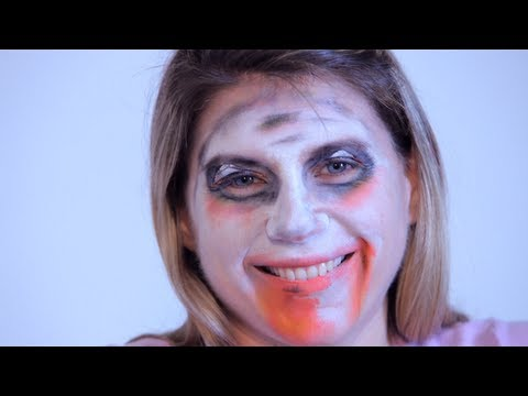 How to Do Face Painting: Zombie