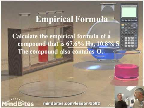 Intro to Chemistry 3.6:  Empirical Formula