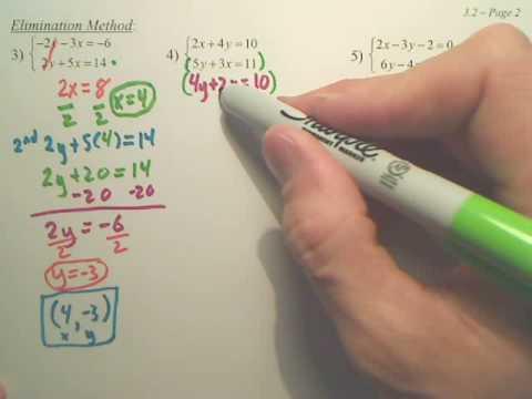 Algebra 2   3.2b