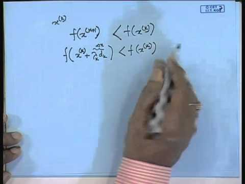 Mod-01 Lec-05 Lecture-05-Unconstrained Optimization Problem (Numerical Techniques)