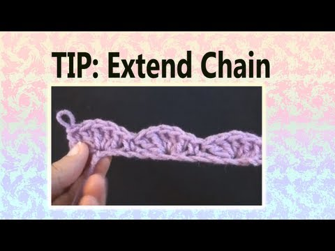 Art of Crochet by Teresa - Crochet Tip for Not Enough Foundation Chains