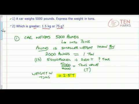 Compare and Convert Weight in Customary Units