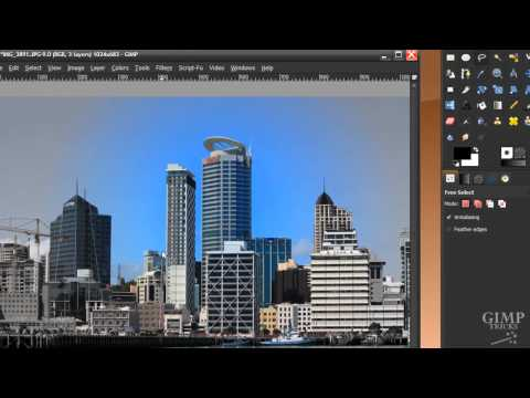 GIMP tutorial - City in Ruins