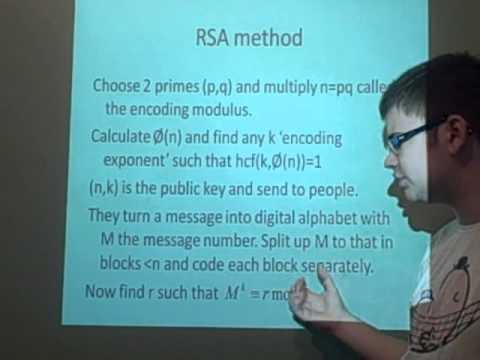 Cryptography RSA