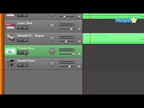 GarageBand Tutorial - Reselecting Software Instruments