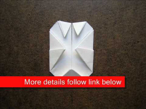How to Fold Origami Cute Rabbit Head - OrigamiInstruction.com
