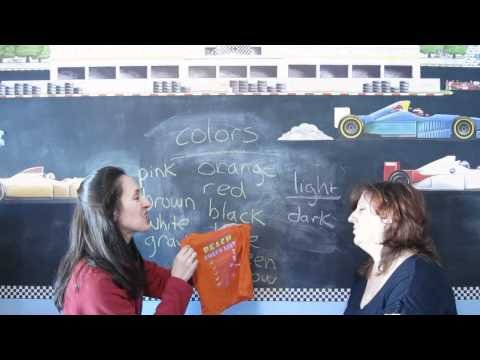 Lesson 28 - Colors - Learn English with Jennifer