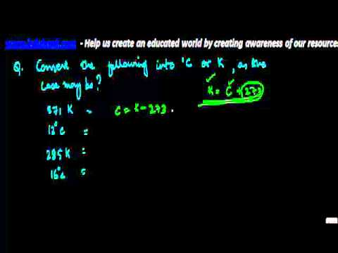 1003. Problem   Conversion of Celsius and Kelvin