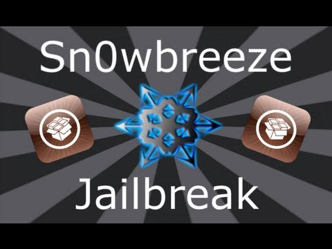 Sn0wbreeze Jailbreak iOS 5.1.1 / 5.0.1 / 4.3.3 iPhone, iPad & iPod Touch