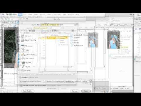Adobe  Dreamweaver CS3 CREATING WEBSITES WITH FRAMES   Creating a Frameset