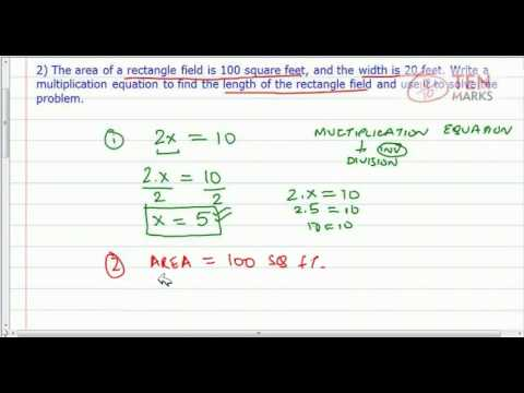 Solve Multiplication Equations