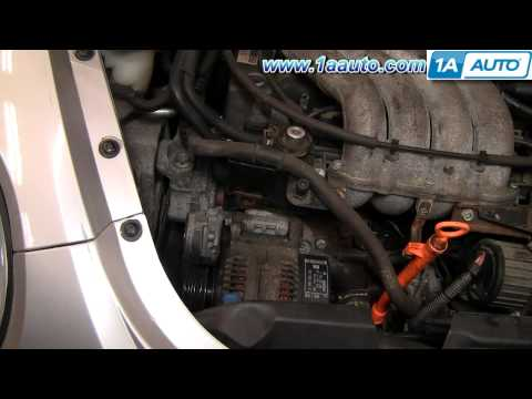 How To Install Replace Serpentine Belt Tensioner VW Beetle 98-05 2.0L 1AAuto.com