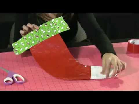 How to Make a Duck Tape Christmas Stocking