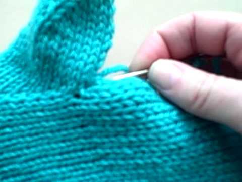 Kelley's Mitten Class - Gusset Thumb Finish (Part 2)