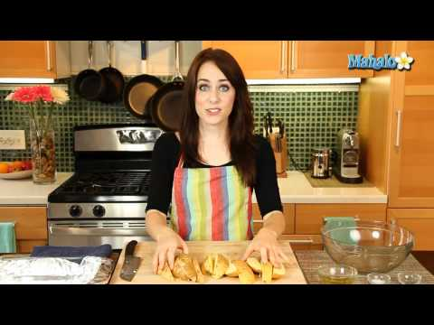How to Bake Sweet Potato Wedges