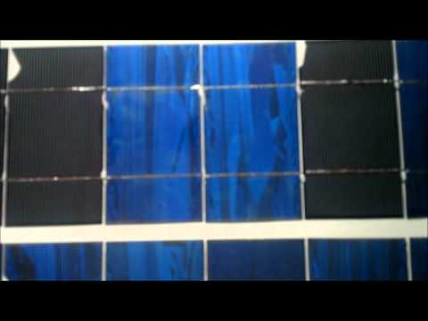 Chipped Broken Solar Cells Make Cheap Solar Panels