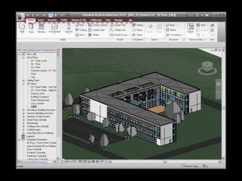 Autodesk Revit Architecture 2010 User Interface Tour