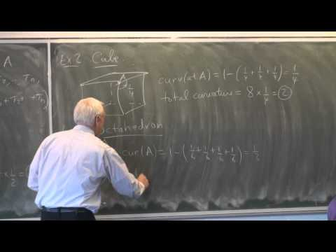 AlgTop16b: Rational curvature of polytopes and Euler's formula (cont.)
