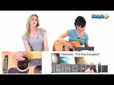 "How to Play ""The Only Exception"" by Paramore on Guitar (Practice Video)"