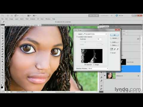 Photoshop: Selecting with the Color Range command | lynda.com tutorial