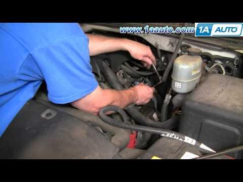 How To Install Replace Engine Ignition Coil Silverado Sierra 6.0 5.3 4.8 Vortec V8 1AAuto.com
