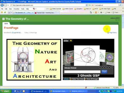 Introduction to The Geometers Sketchpad