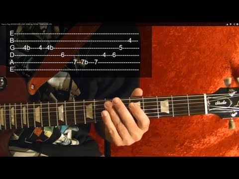 ENTER SANDMAN ( Guitar Lesson ) by METALLICA ( Video 2 of 2 ) WITH TABS