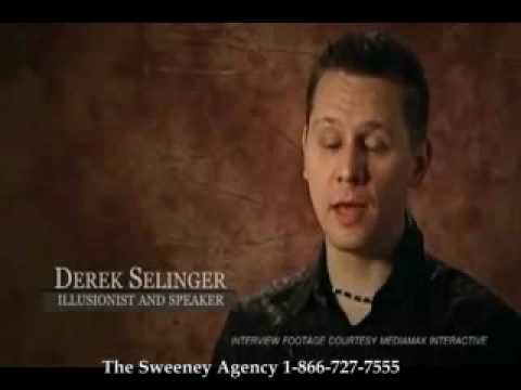 Derek Selinger - Corporate Entertainer and Motivational Speaker