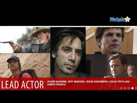 2011 Best Actor and Supporting Actor Oscar Nominees