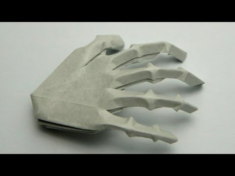 Origami Hand Skeleton (Jeremy Shafer)