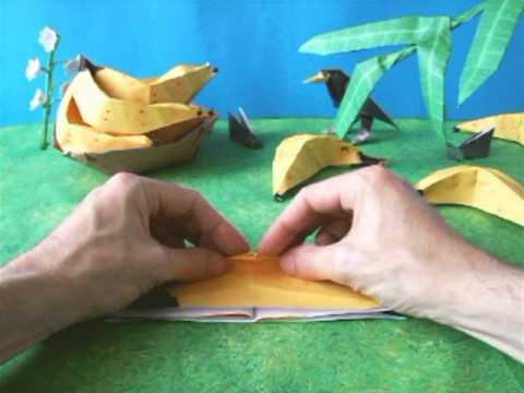 Origami Banana