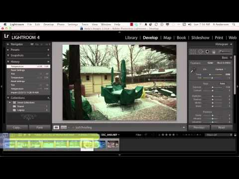 Adobe Photoshop Lightroom 4 Tutorial | Creating an Efficient Workflow