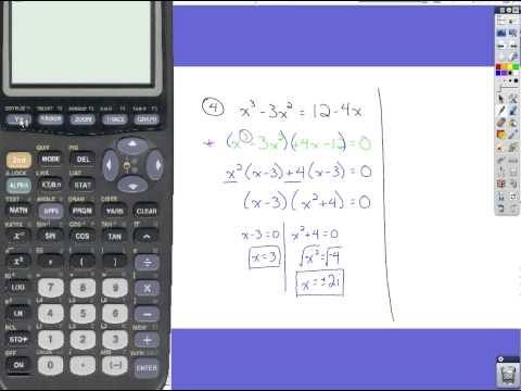 Algebra Review - Quadratic Equations & Rational Expressions