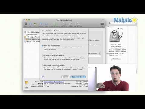 Erase Hard Drive - Learn Mac OS Snow Leopard