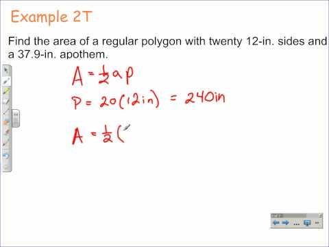 How to Find the Area of Regular Polygons | Geometry Math Video