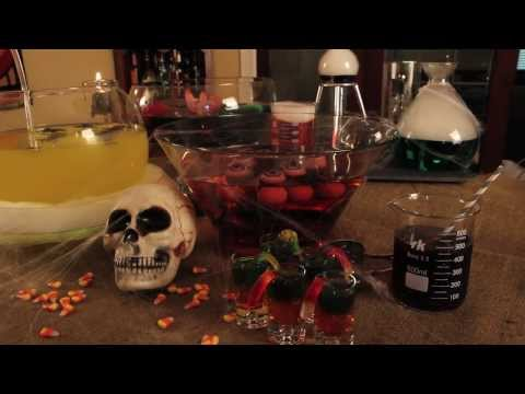 How to Make Halloween Drinks